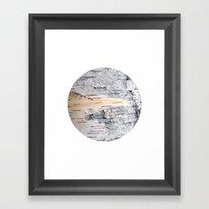 Planetary Bodies - Birch Framed Art Print