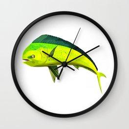 Mahi mahi Wall Clock