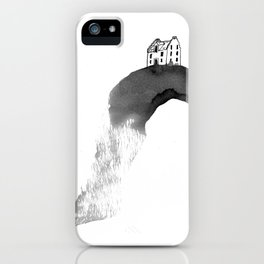 House on Hill - three iPhone Case