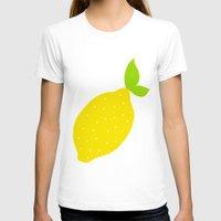 lemon T-shirts featuring Lemon  by Ariel Lark