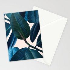 Ficus elastica 2 Stationery Cards