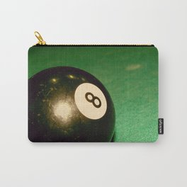 Eight Ball-Green Carry-All Pouch