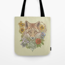 Fox Garden Tote Bag
