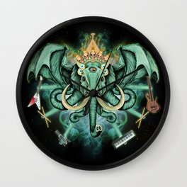 Elephant Ghost Wall Clock
