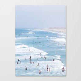 Beach Life 2 Canvas Print