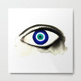 Evil Eye See You Metal Print