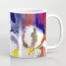 Expressive iris flowers Coffee Mug
