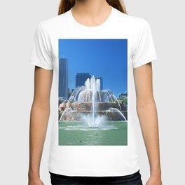 Buckingham fountain T-shirt