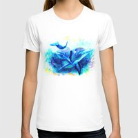dolphins T-shirts featuring Dolphins by isabelsalvadorvisualarts