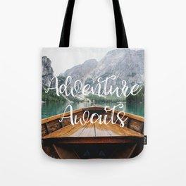 Live the Adventure - Adventure Awaits Tote Bag