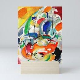 Improvisation 31 (Sea Battle) by Wassily Kandinsky Mini Art Print