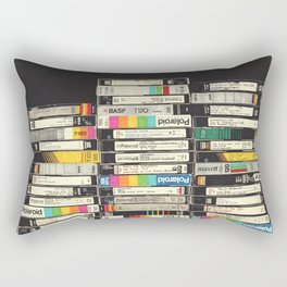 VHS Stack Rectangular Pillow