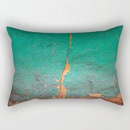 Cracked wall Rectangular Pillow