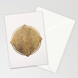 Gold Squircle Stationery Cards
