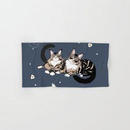 Space Cats Hand & Bath Towel