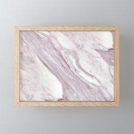 Swirl Marble Framed Mini Art Print