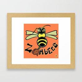 Zombee Framed Art Print