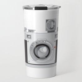 Vintage 35mm Film Camera Retro Style Travel Mug