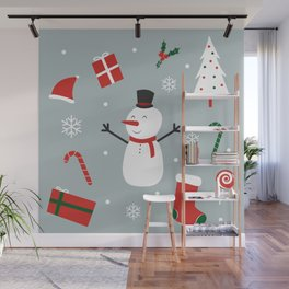 Yay Christmas! Wall Mural