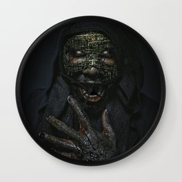 Boogie Horror: Mirror Mask Wall Clock