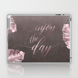 Enjoy The Day Glamour Calligraphy Laptop & iPad Skin