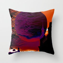 Dark side of the Moon 1 Throw Pillow