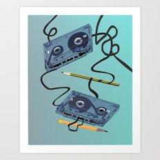 Rewind :) Art Print