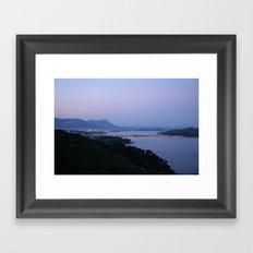 Evening Harbor 4423 Framed Art Print