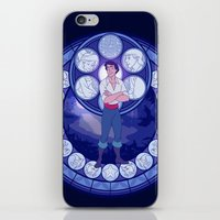 eric fan iPhone & iPod Skins featuring Eric by NicoleGrahamART