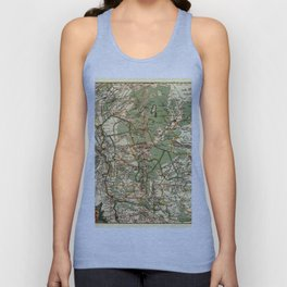 Map Of Holland 1658 Unisex Tank Top