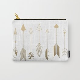 Be Brave Little Arrow (gold) Carry-All Pouch