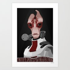 spectr.es: Mordin Solus Art Print