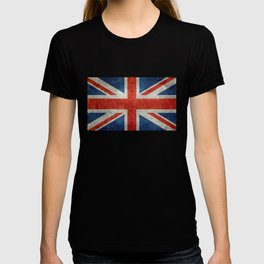 "English Flag ""Union Jack"" bright retro 3:5 Scale T-shirt"
