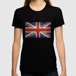 "English Flag ""Union Jack"" bright retro 3:5 Scale T-shirt"