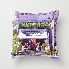 20160403 Cugini Club Street Throw Pillow