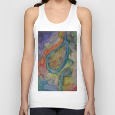Dazed and Confused in Crazy Colors Unisex Tank Top