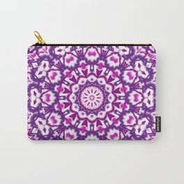 Pink and Purple Mandala Carry-All Pouch