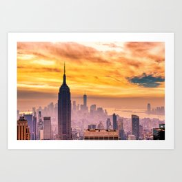 New York . Art Print