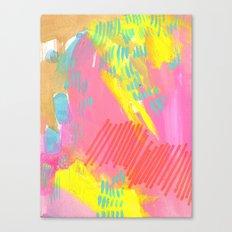 champagne rain Canvas Print