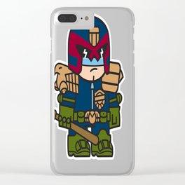 Mitesized Dredd Clear iPhone Case