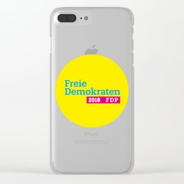 Free Democratic Party 2018 Logo Clear iPhone Case