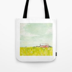 Oil painting house Tote Bag
