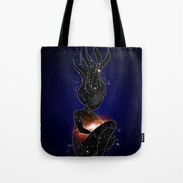 Mother of the Universe Tote Bag