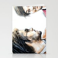 cyrilliart Stationery Cards featuring Rebels Without A Cause by Cyrilliart