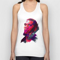 greg guillemin Tank Tops featuring GREG ODEN MIAMI HEAT by mergedvisible