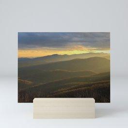 Love in the Mountains Mini Art Print