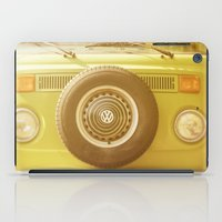 volkswagon iPad Cases featuring Retro VW by ShadeTree Photography
