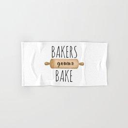 Bakers Gonna Bake Hand & Bath Towel