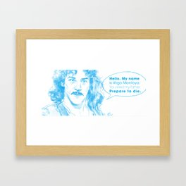 Hello! My name is...  Framed Art Print