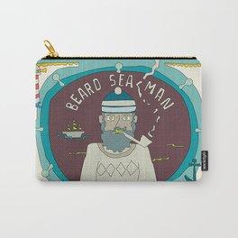 Beard Sea Man Carry-All Pouch